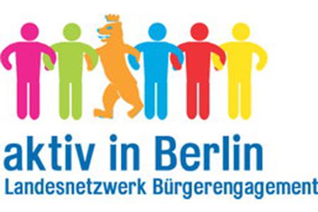 Logo aktiv in Berlin - Landesnetzwerk Bürgerengagement