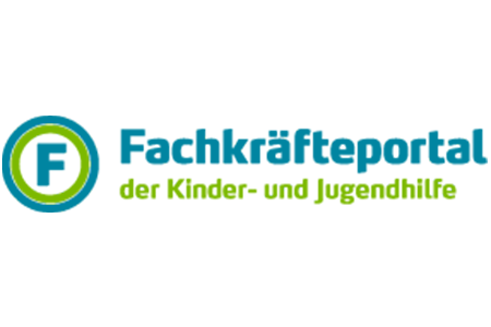 Logo Fachkräfteportal der Kinder- und Jugendhilfe.