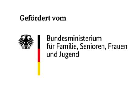 Logo Bundesministerium für Familie, Senioren, Frauen und Jugend